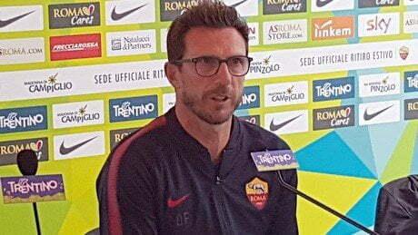 ROMA PSG Di Francesco: 'Non ho ancora visto nulla delle mie idee, ma ho notato voglia di osare'