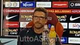 LIVE TRIGORIA Di Francesco: 'Puo' recuperare Manolas per domani. Domani favorito Dzeko. Schick? il merito è suo' (TESTO)(VIDEO)