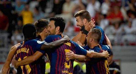 SPAGNA 2-1 al Siviglia: il Barça vince la Supercoppa