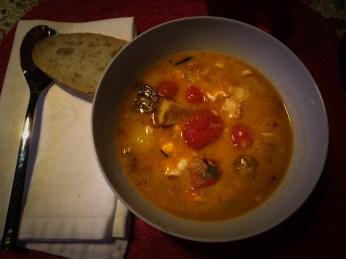 Delicious fish stew a la Jack