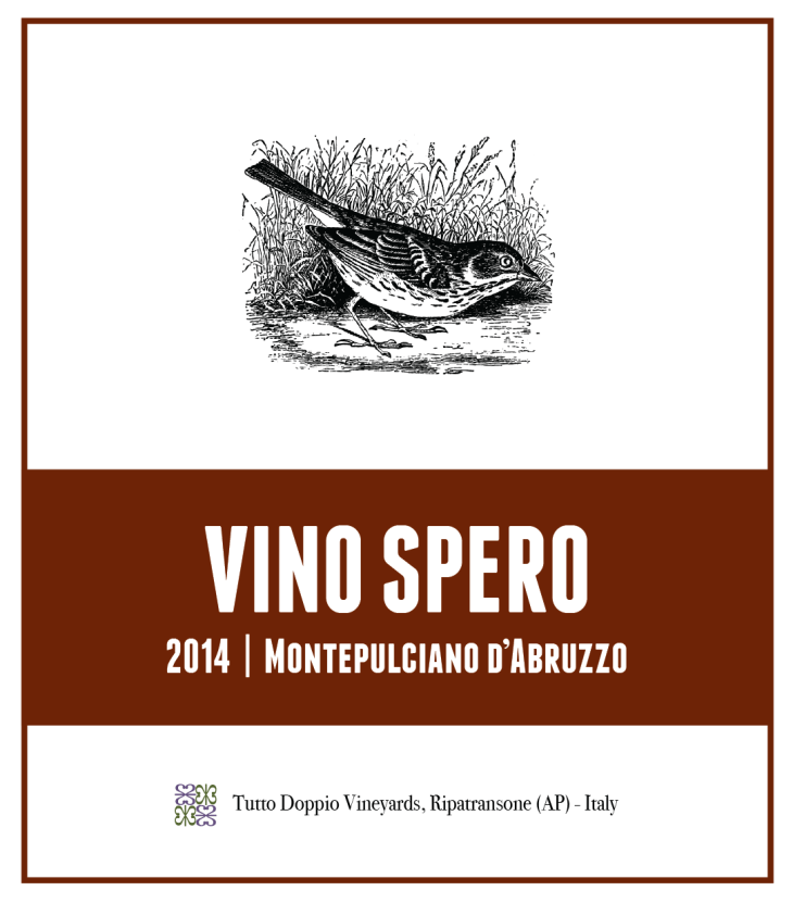 Label for 2014 Red