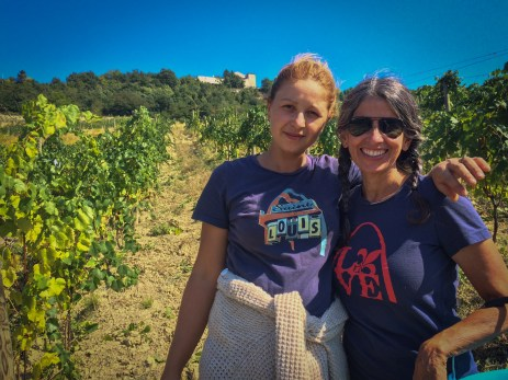 Lidia & Sweet Baby G stop to show off their STL-Styles tee shirst