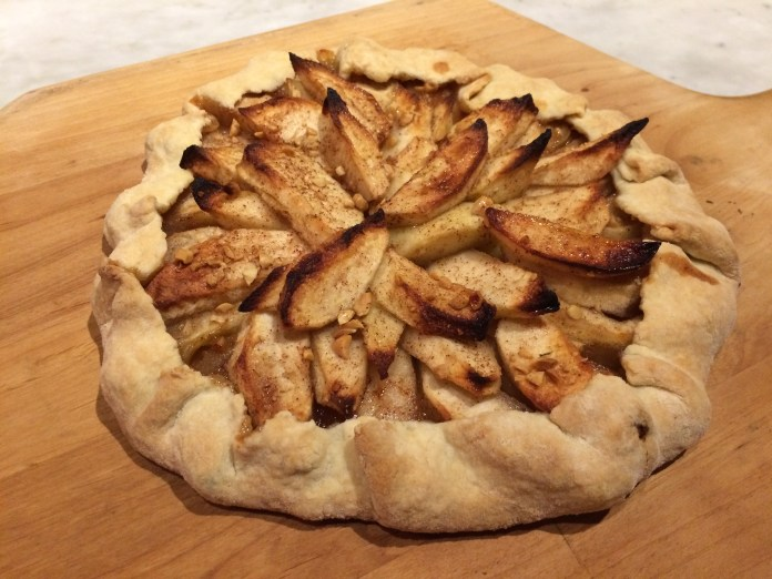 Apple crostata. It will be all gone by the time you read this.