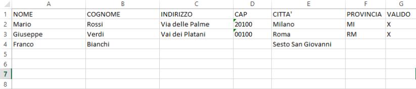 Valutare più condizioni insieme in una formula Excel con E e O