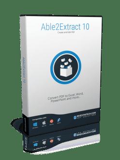 Convertire un file da PDF ad Excel con ABLE2EXTRACT PDF Converter