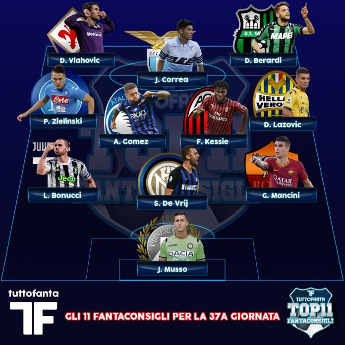 top11-fantaconsigli-fantacalcio-seriea-calcio-tuttofanta