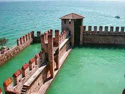 Sirmione - Darsena del Castello Scaligero