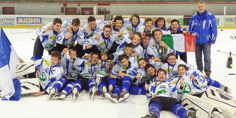 Italia: titoli juniores del ghiaccio ad Asiago, Valgardena e Vipiteno