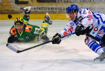 Alps Hockey League: Renon a +6 sullo Jesenice