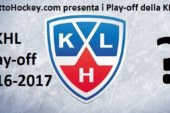 Kontinental Hockey League: play-off di Conference al via