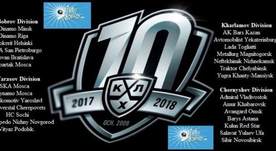 Qui KHL: la presentazione della stagione 2017-2018