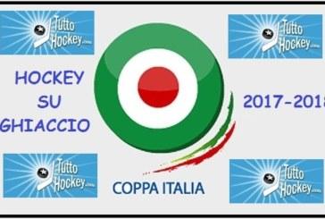 Coppa Italia: stasera le gare uniche dei quarti di finale
