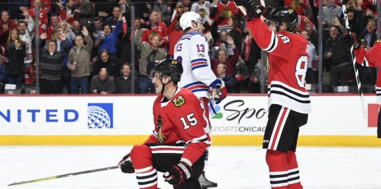Focus NHL: Rangers stoppati dai Blackhawks dopo sei vittorie di fila