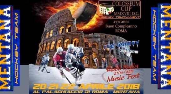Il Mentana Hockey Team presenta la Colosseum Cup 2018