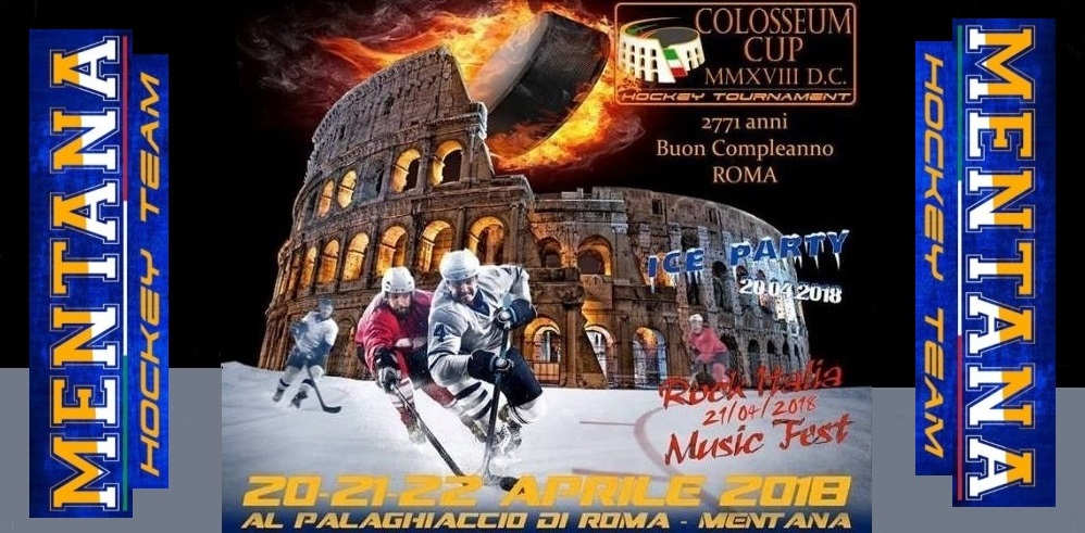 Il Mentana Hockey Team presenta la Colosseum Cup 2018