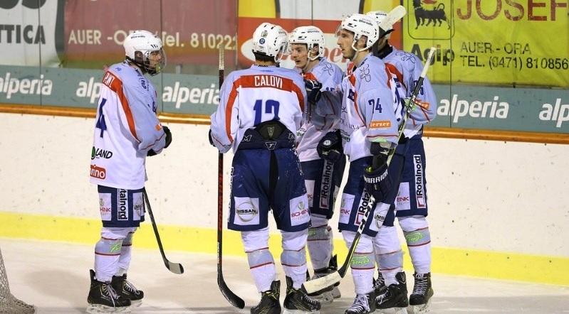 Italian Hockey League: Caldaro in fuga alla sosta
