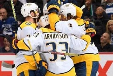 Focus NHL: Nashville Predators ad un solo punto da Tampa Bay Lightning