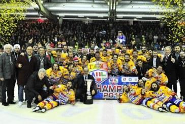 Alps Hockey League: nella decisiva gara-7 trionfa l'Asiago