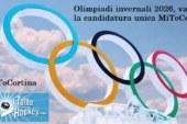Olimpiadi invernali 2026: varata la candidatura unica MiToCortina