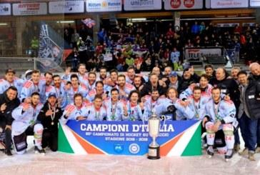 Elite Italian Hockey League: quarto scudetto di fila per il Renon