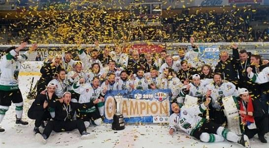 Alps Hockey League: suicidio Valpusteria, trionfa l'Olimpia Lubiana