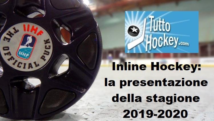 Inline Hockey: definita la stagione 2019-2020