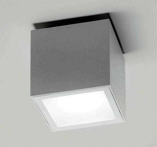 Lampada a soffitto plafone led EK CUBO 90F-PL