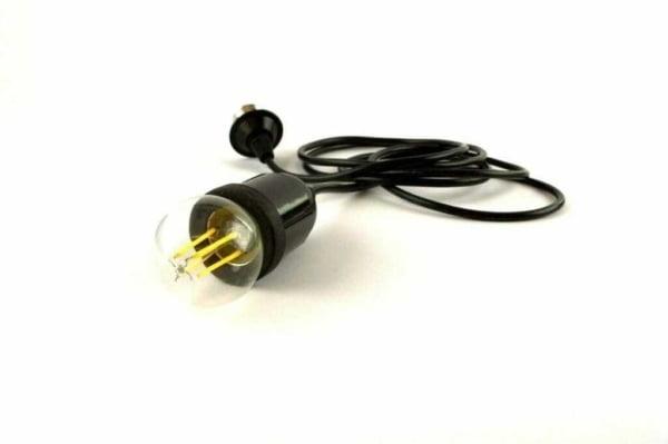 Portalampada Pendel ip44 per illuminazione in esterno Accessorio per catenaria di lampadine passo e27