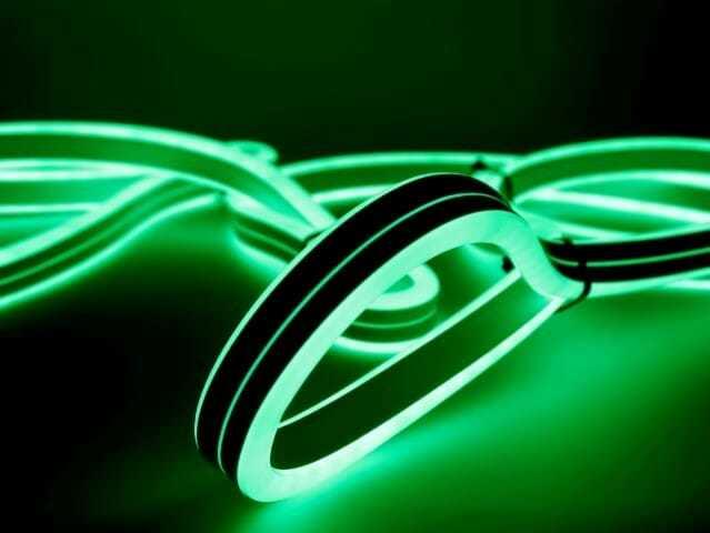 Tubo led flessibile, spazio alla creatività