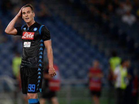 """Napoli News, Milik a Skysport: """"Ora siamo con Gattuso, sono tornato"""" Milan Juventus"""