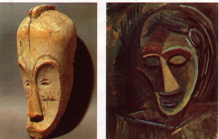 Maschere africane e arte novecentesca