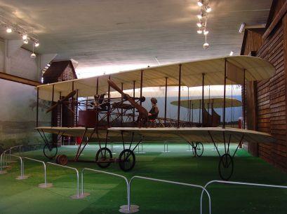 Riproduzione fedele del velivolo Ca.1 a Volandia