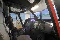 Simulatore dell'elicottero AW139