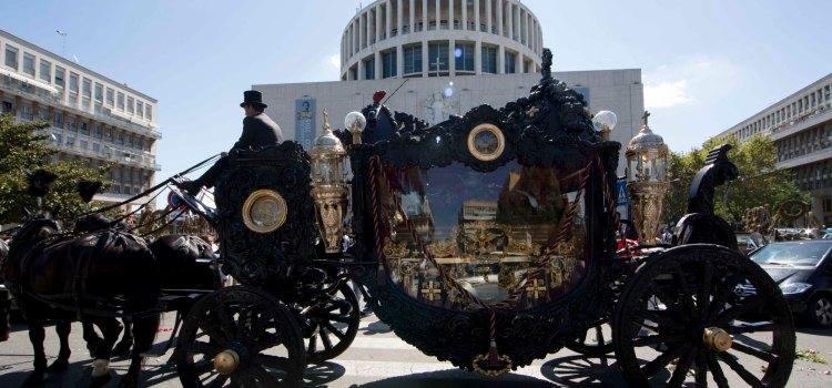 Il funerale del boss Casamonica
