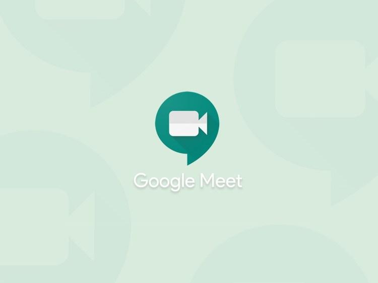 Google Meet consente di personalizzare lo sfondo nelle videochiamate