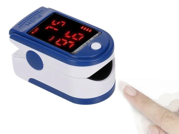 Questo piccolo strumento vi permette di conoscere in pochi secondi l'ossigenazione del sangue