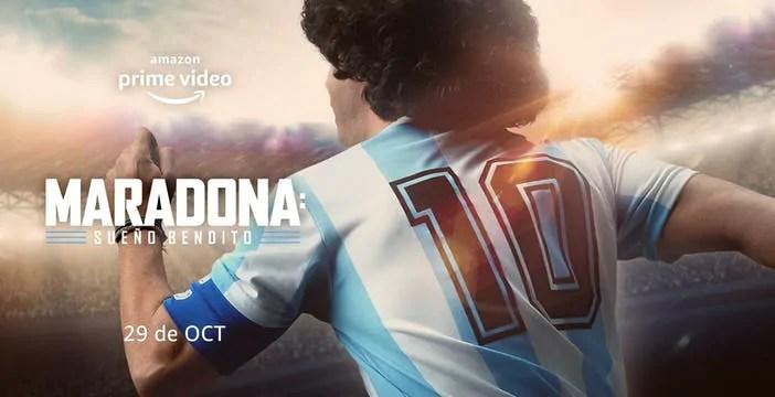La serie dedicata a Maradona è in arrivo su Amazon Prime Video
