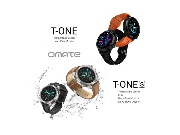 Omate annuncia gli smartwatch T-ONE e T-ONE S con sensore per la temperatura