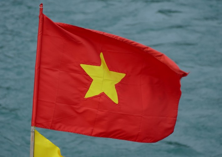 la bandiera del Vietnam