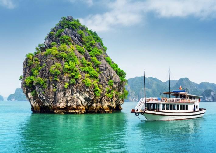 baia di Halong in Vietnam
