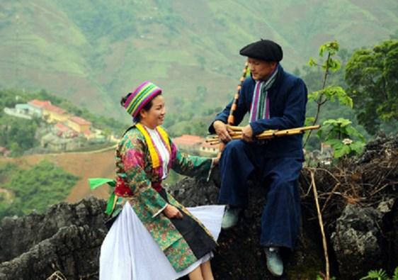 mercato dell'amore di Khau Vai