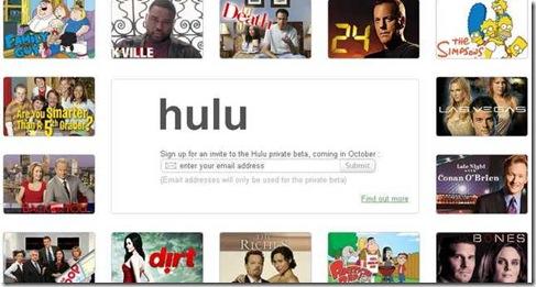 Hulu internet tv