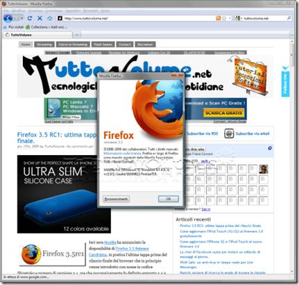 Firefox 3.5 RC1