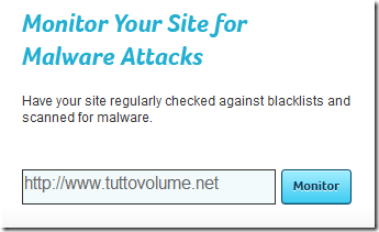 Web Anti-malware monitor