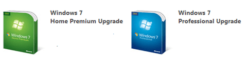 Windows 7 upgrade programm