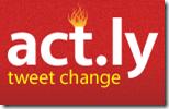 act.ly tweet change