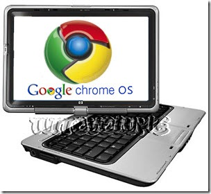 Google Chrome OS Netbook