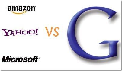amazon microsoft yahoo vs google