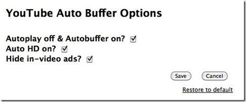 You Tube Auto Buffer