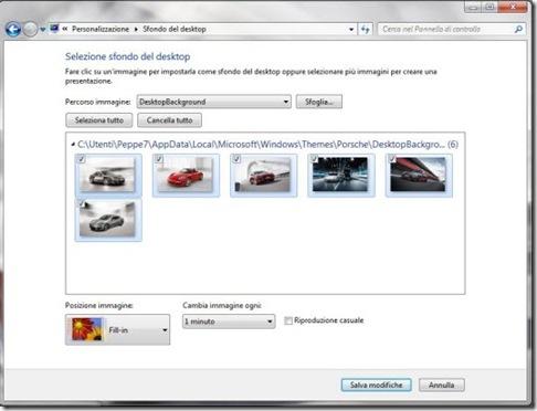 Personalizza Windows 7